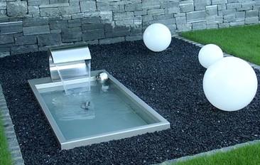 Brunnen Edelstahl.Floor Innovator 1 Edelstahl